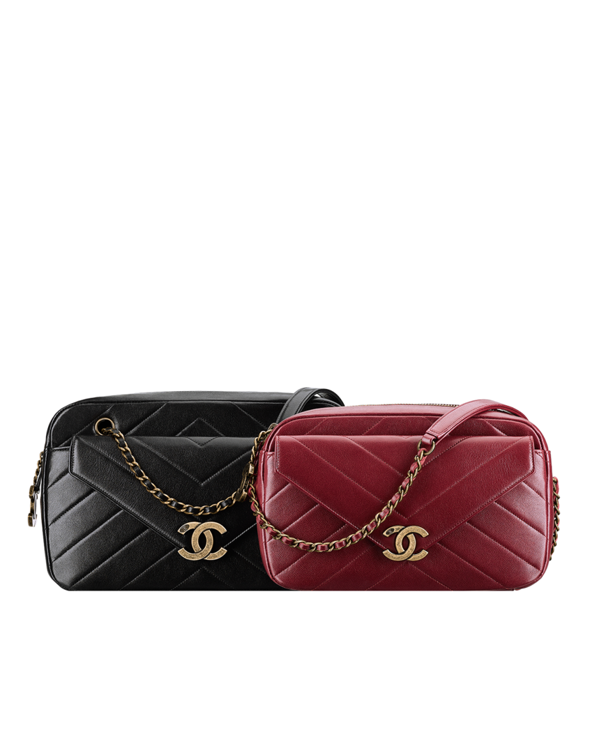 21ae4bd9d3c3bf Herringbone quilted lambskin camera... - CHANEL | BAGS | Chanel ...