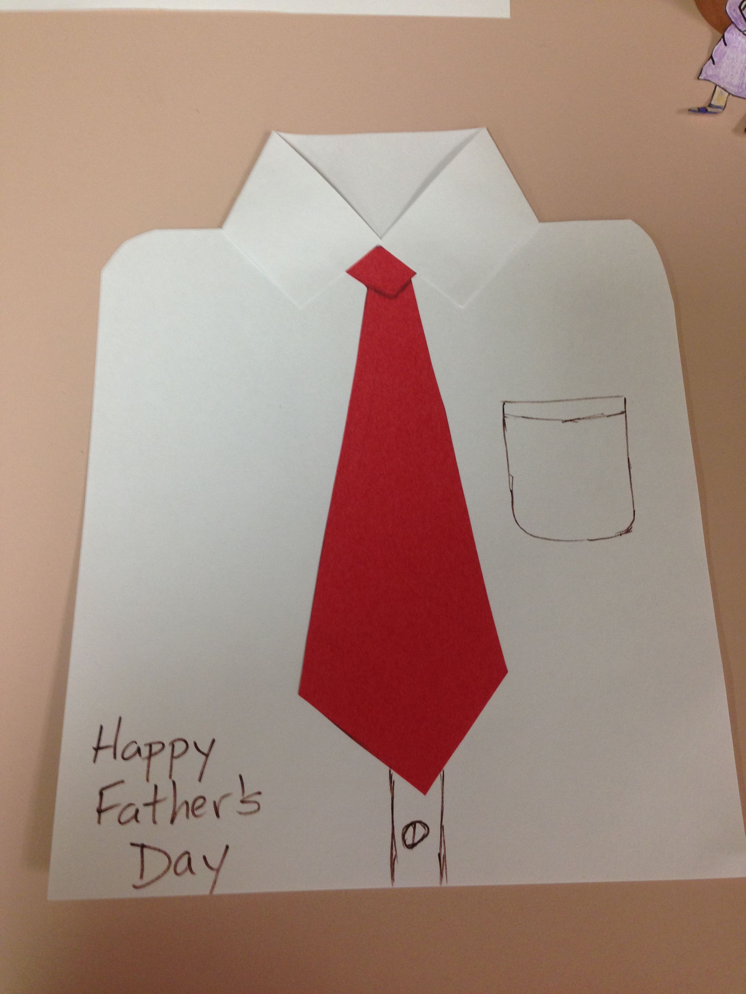 Father S Day Necktie Card
