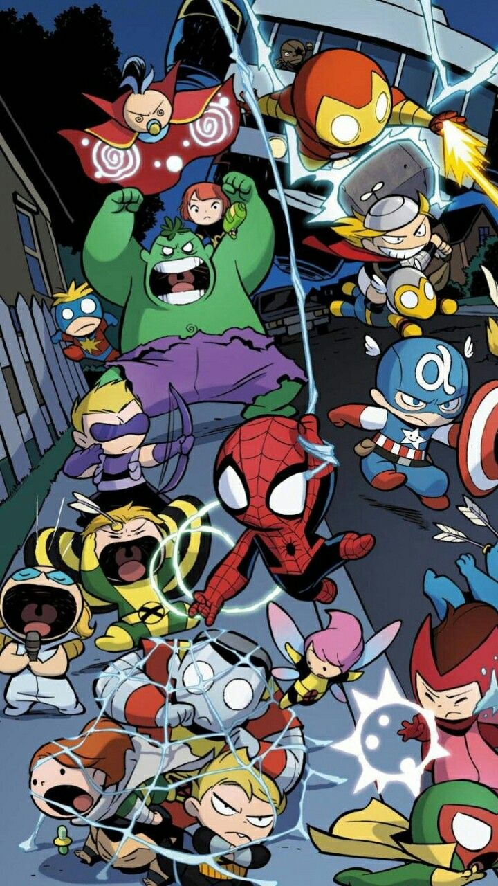 Download Great Marvel Background for Smartphones Today