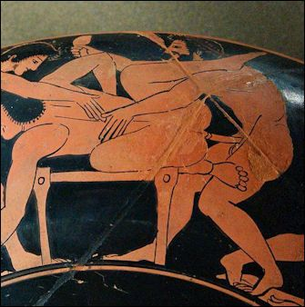 Image result for ancient greek vase sex