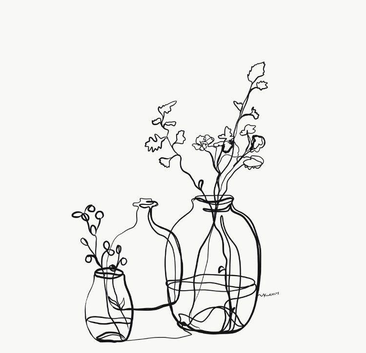 "Kuralay Meirbekova on Instagram: ""� . --- . . . . #day18 #inktober2018 #illustration #art #handpoke #contemporaryart #minimalism #contemporary #almaty #ink #digitalart…"""