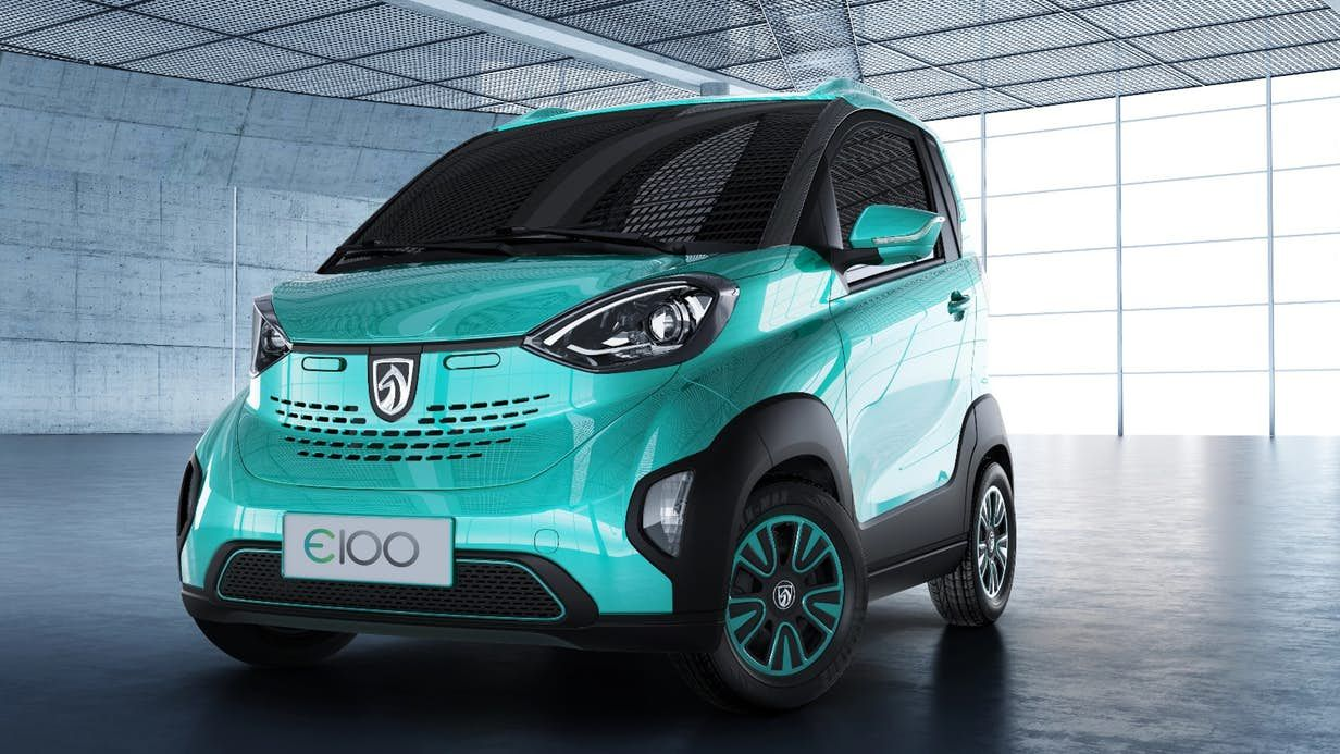 Gm Launches Tiny 5k Ev In China Small Electric Cars Electric