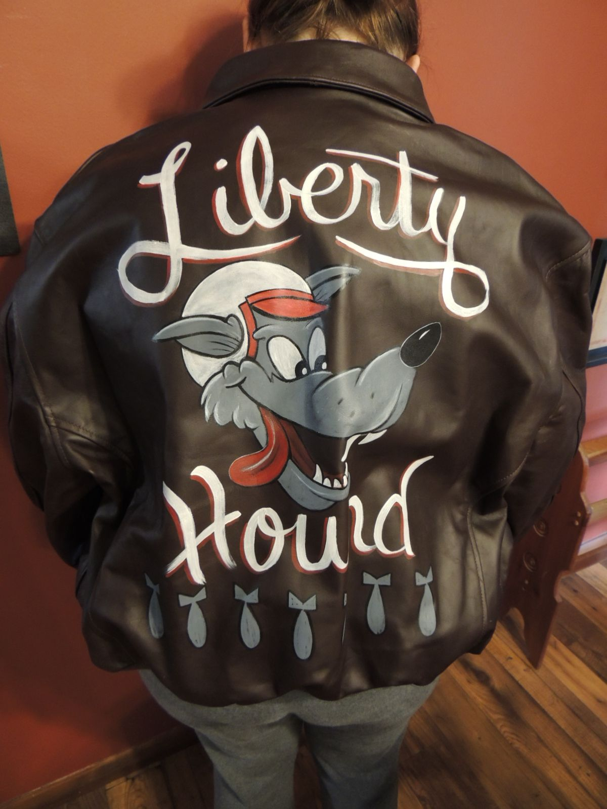 Best Motorcycle Jacket >> Motorcycle jacket by Dan McQuality of McQuality Nose Art Studio | McQUALITY NOSE ART STUDIO ...
