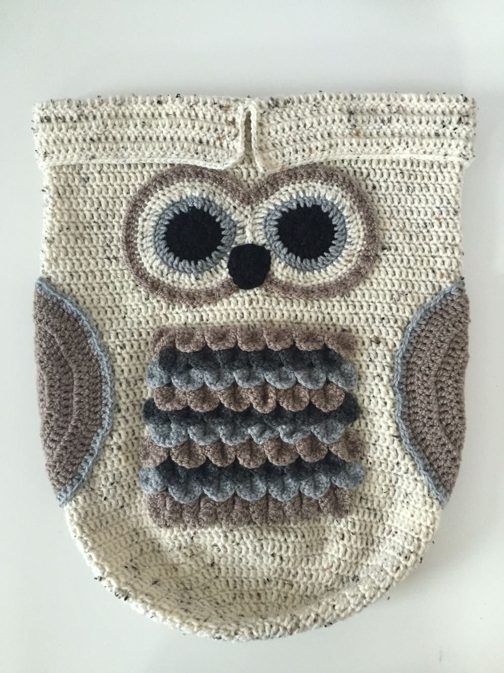 Cottage snuggle sack and hat crochet baby baby cocoon and sacks - Crochet Owl Baby Cocoon