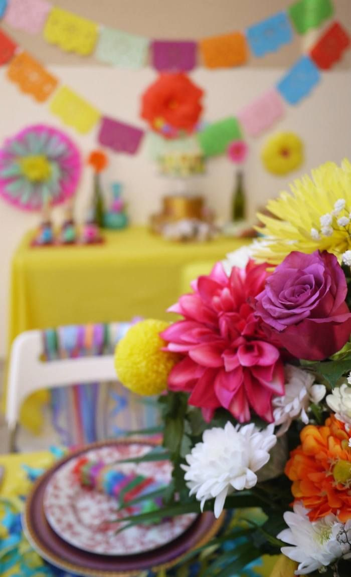 Colorful Fiesta Mexican Themed Birthday Party Full Of Fun Ideas