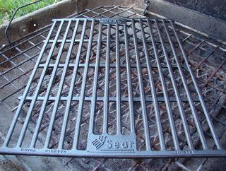 Cast Iron Grilling Grate Backyard Bbq Pit Camping Fire Pit Fire Pit Bbq