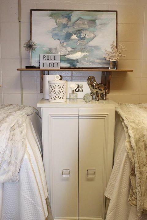 Alabama Tutwiler Dorm Refrigerator Cabinet Apartment Goals Ideas