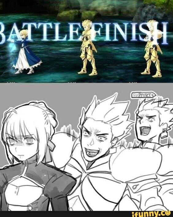 Fategrandorder Memes Best Collection Of Funny Fategrandorder Pictures On Ifunny Fate Stay Night Anime Gilgamesh Fate Fate Anime Series