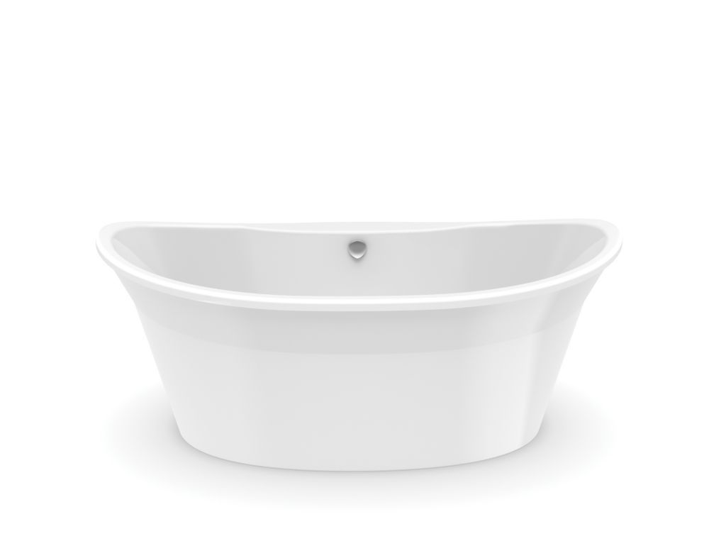 Orchestra 5 Feet 6 Inch Fibreglass Freestanding Non Whirlpool Bathtub In  White