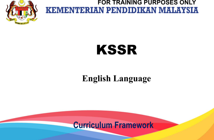CEFR KSSR CURRICULUM FRAMEWORK | KSSR ENGLISH | Curriculum