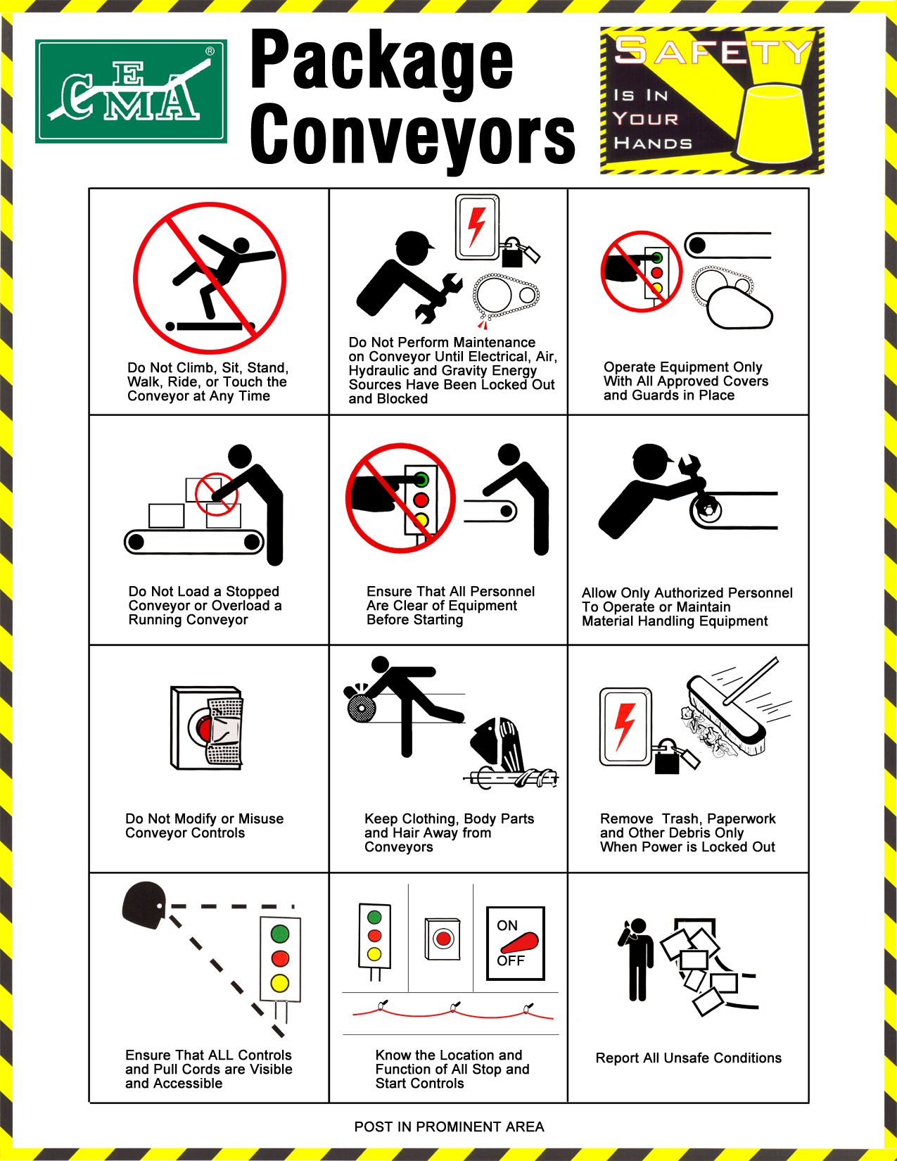 Package Conveyor Safety