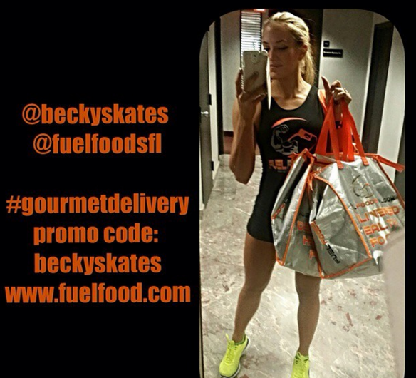 www.Fuelfood.com delivers meals fresh in a insulated cooler bag. Take your meals on the go to the office, the gym, even shopping!