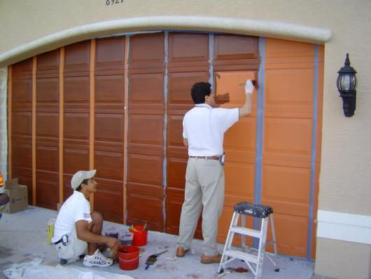 How To Prep Garage Door For Painting Can You Paint Garage Doors