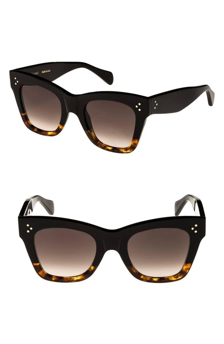839ddd4a4b8 50mm Gradient Butterfly Sunglasses