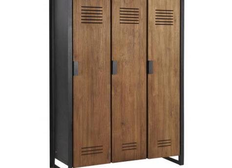 Fendy locker kast large 3 deurs zichem tall cabinet storage