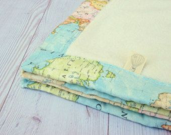 Welcome to the world blanket baby blanket world map minky blanket welcome to the world blanket baby blanket world by hagarsewingshop gumiabroncs Gallery