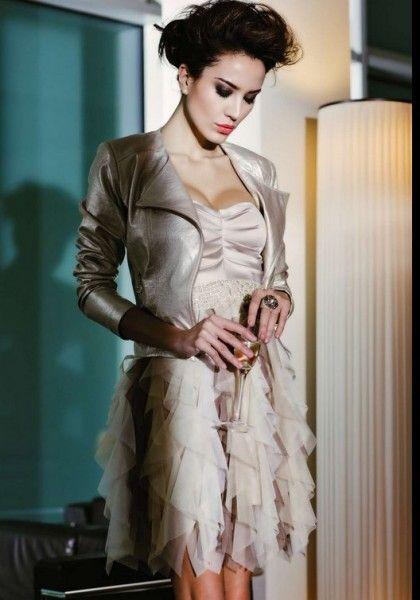 2505b3bba4b4 rinascimento-abbigliamento-donna-primavera-estate-2013-abito-ruches ...