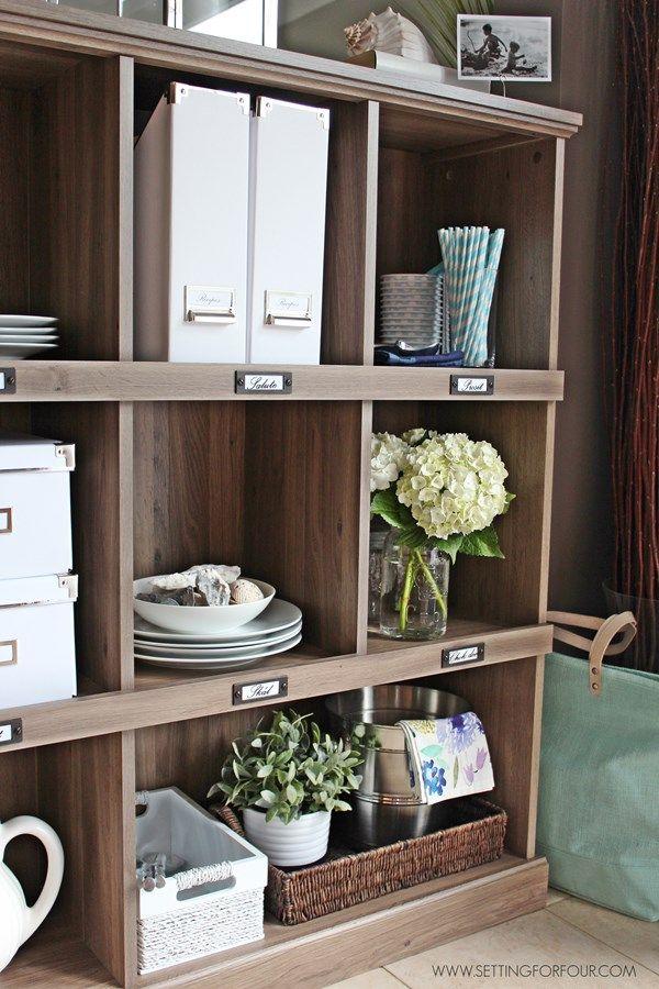 a kitchen storage and display bookcase kitchen decor home kitchens decor on kitchen decor organization id=65267