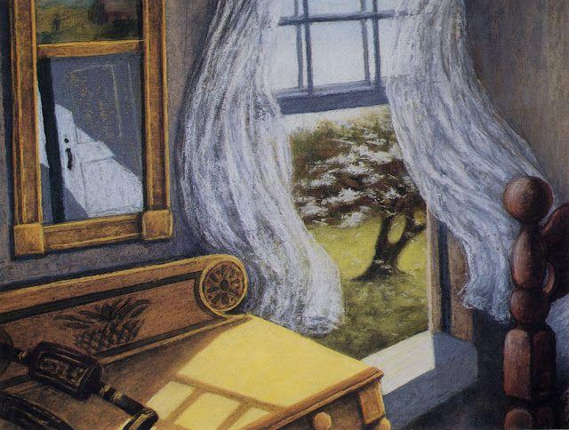 "Rachel Ellis Kaufman - ""Spring Breeze,"" 1992, 18""x22"", pastel on paper"