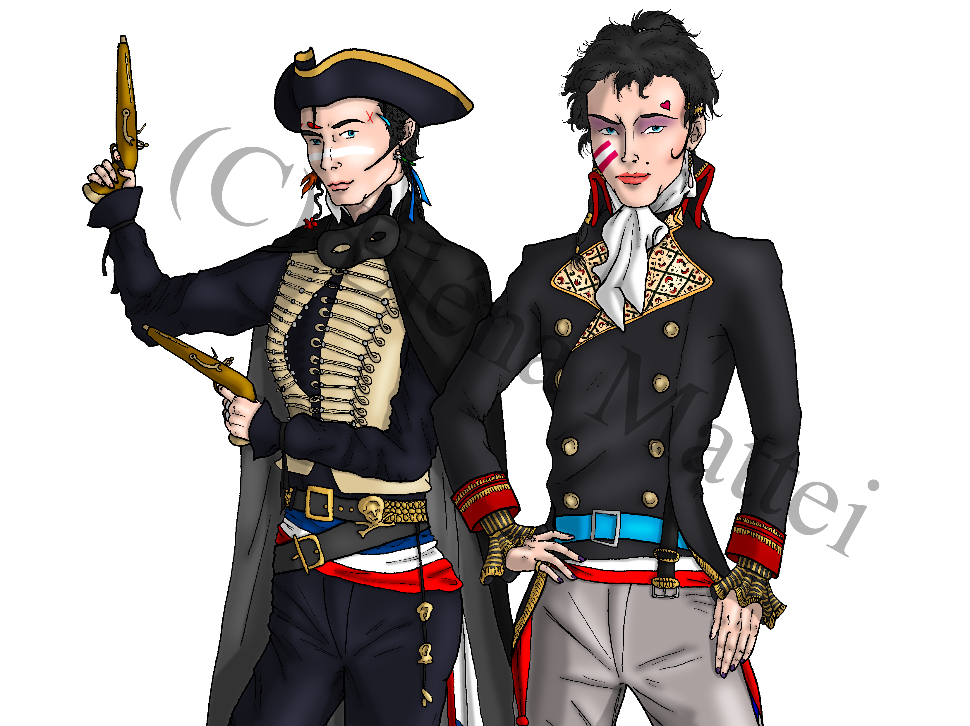 """The Dandy Highwayman and the Prince Charming"