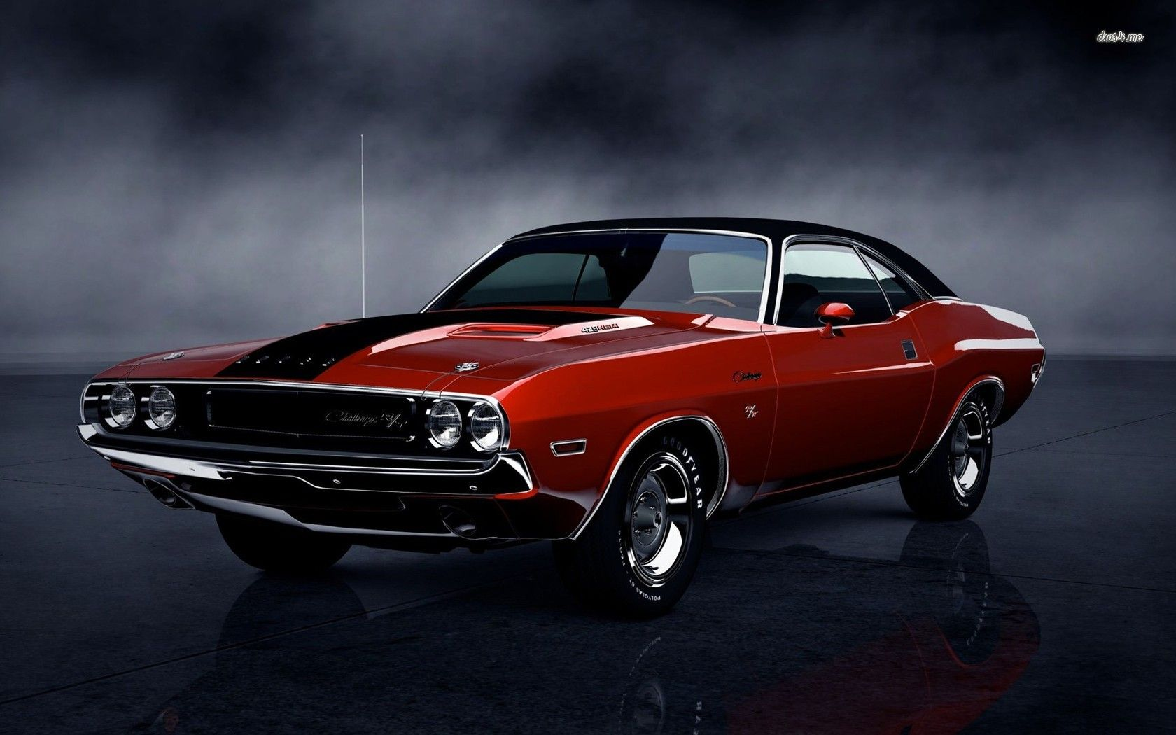 Classic Dodge Challenger Wallpaper 1680x1050 16505 Classic Cars Dodge Challenger Classic Cars Muscle