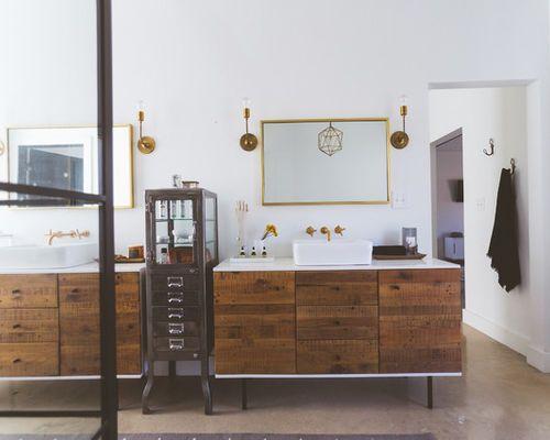 Roller Badezimmermöbel ~ West elm bathroom vanity innovative art badezimmermöbel west elm