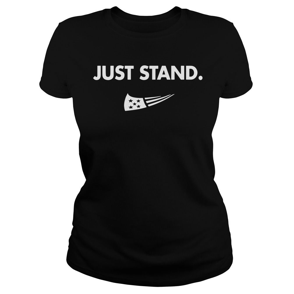 f9f09c80d840 Official Nine Line Apparel counters Nike with  Just Stand  shirt ...