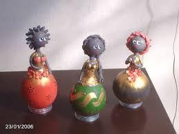 Resultado de imagem para bonecas de cabaça