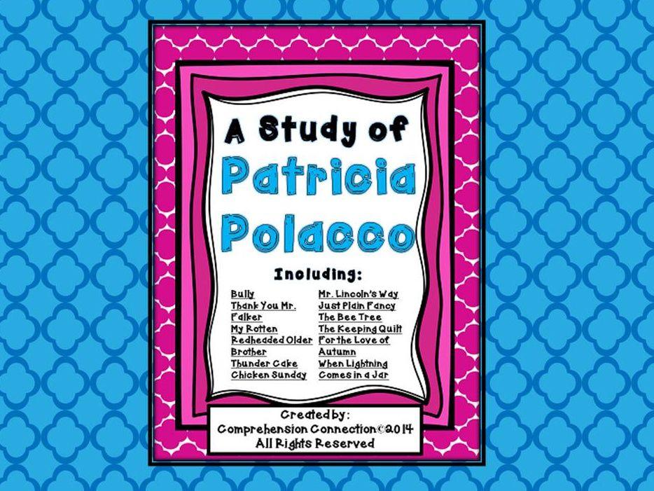 Enter the giveway author studies patricia polacco