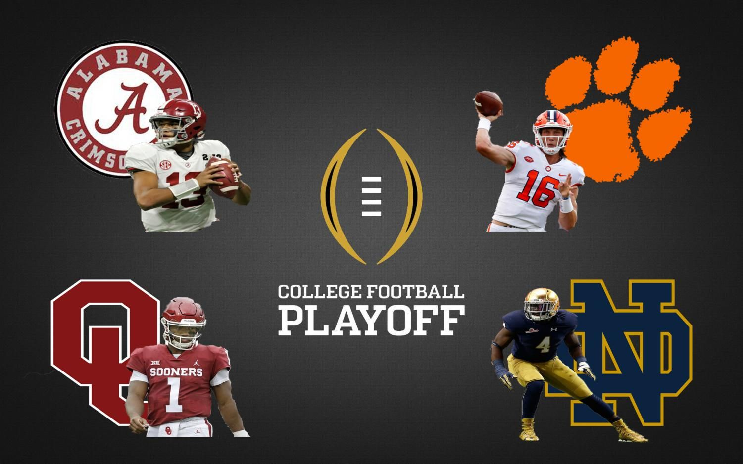 College Football Preview Predictions Bama Vs Ou Clemson Vs Nd More College Football College Football Playoff Football