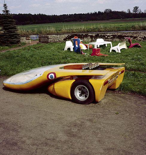 1970 Colani Le Mans Prototype Utilizing Lamborghini Miura V12 And