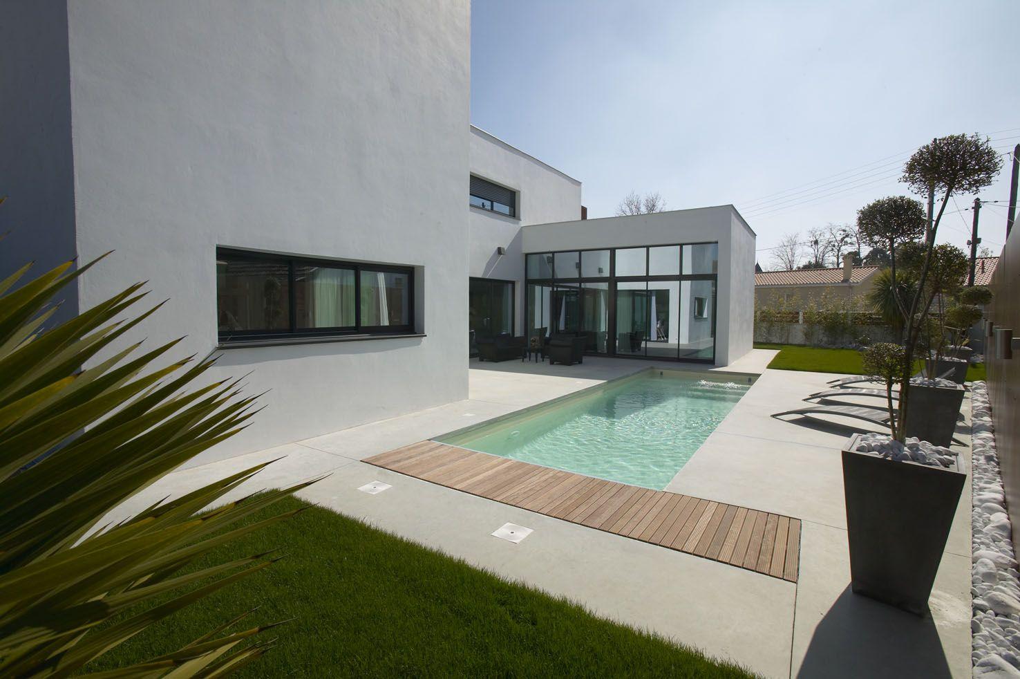 plan maison contemporaine toit plat - Recherche Google   Plan maison contemporaine, Maison ...