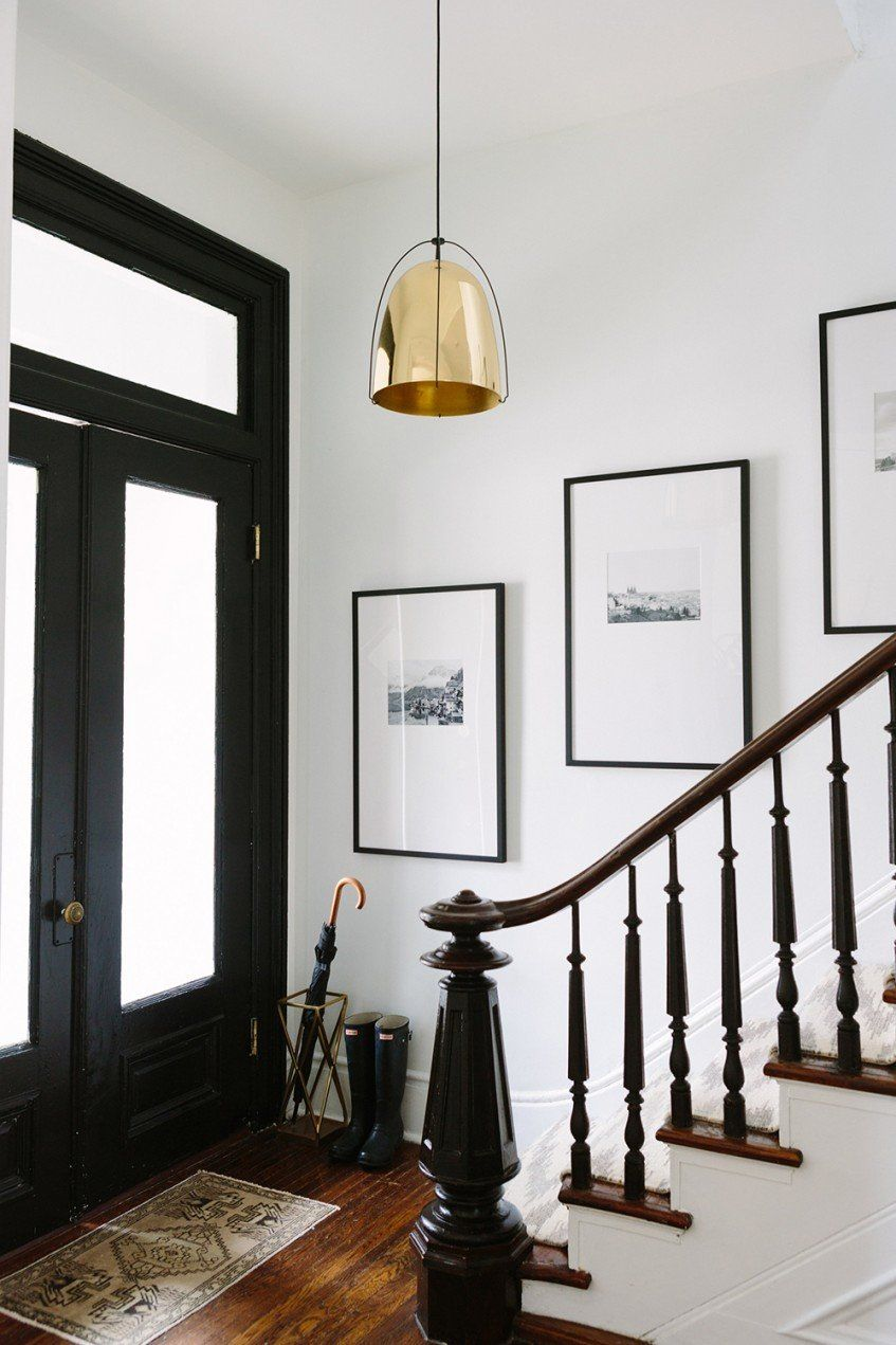De blanco y muy sofisticada entrys pinterest hall and house