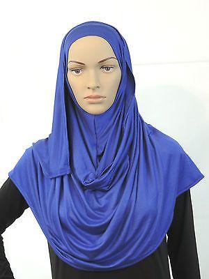 Jersey High Quality Hijab Scarf Elegant Shawl Wrap Sarong Cape