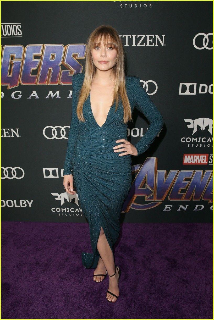 Elizabeth Olson On Red Carpet At Avengers Endgame Premiere In La Elizabeth Olsen Red Carpet Fashion Fashion
