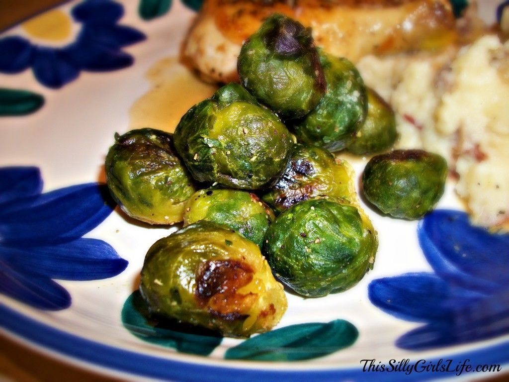 How To: Oven Roasted Brussel Sprouts   DIY Ideas   Oven ...