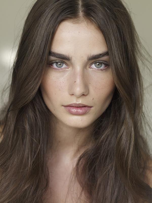 Andreea Diaconu Fashion Models Hair Pale Skin Brown Hair Pale Skin Hair Beauty