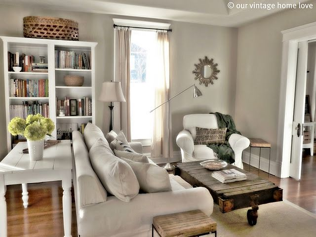 bookcase and rug | Home, Farm house living room, Home ...