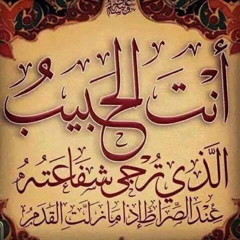 انت الحبيب Islamic Calligraphy Islamic Art Calligraphy Quran Verses