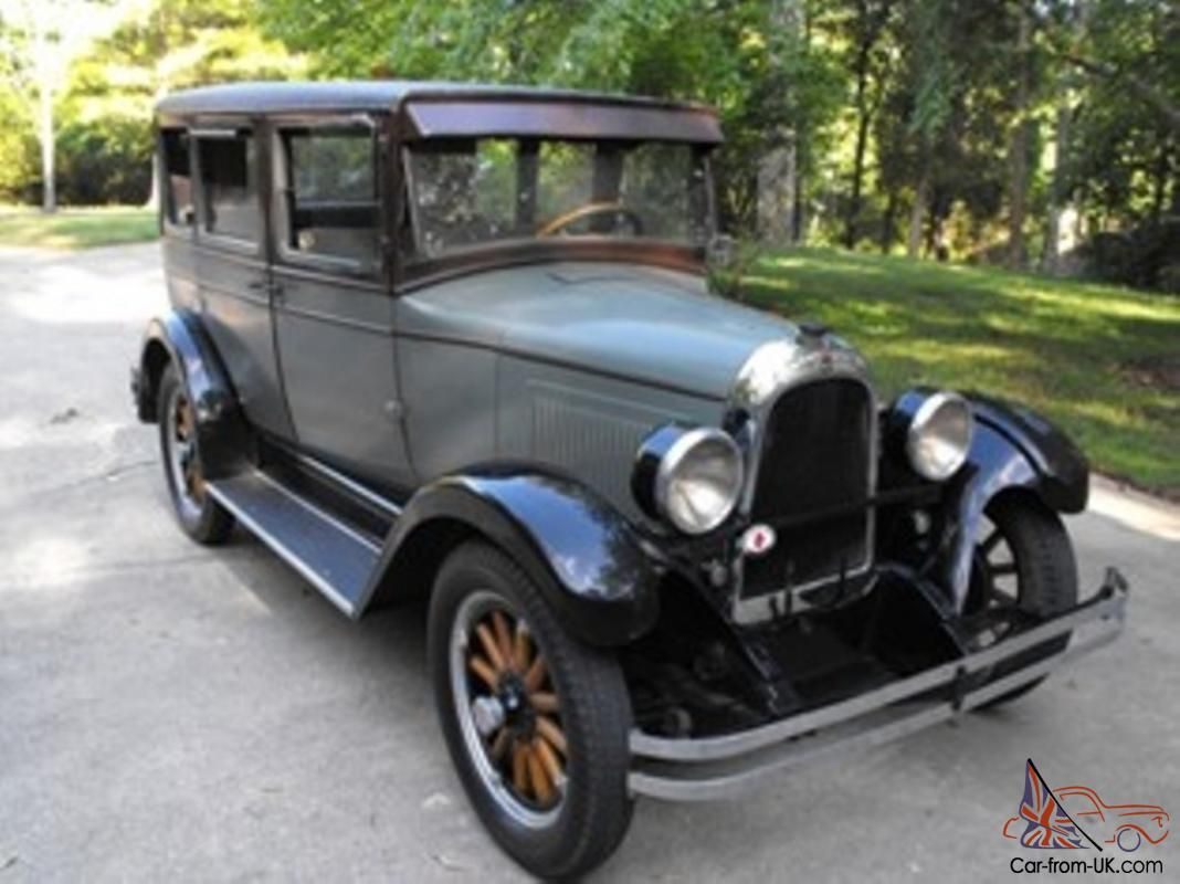 1928 Willys Whippet 96 Touring Sedan 4 Door For Sale Antique