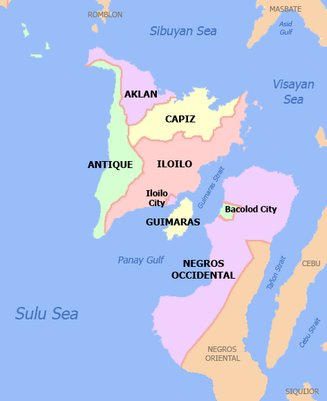 Capiz Philippines Map.Working On A Long Term Project And Move To Capiz The Western