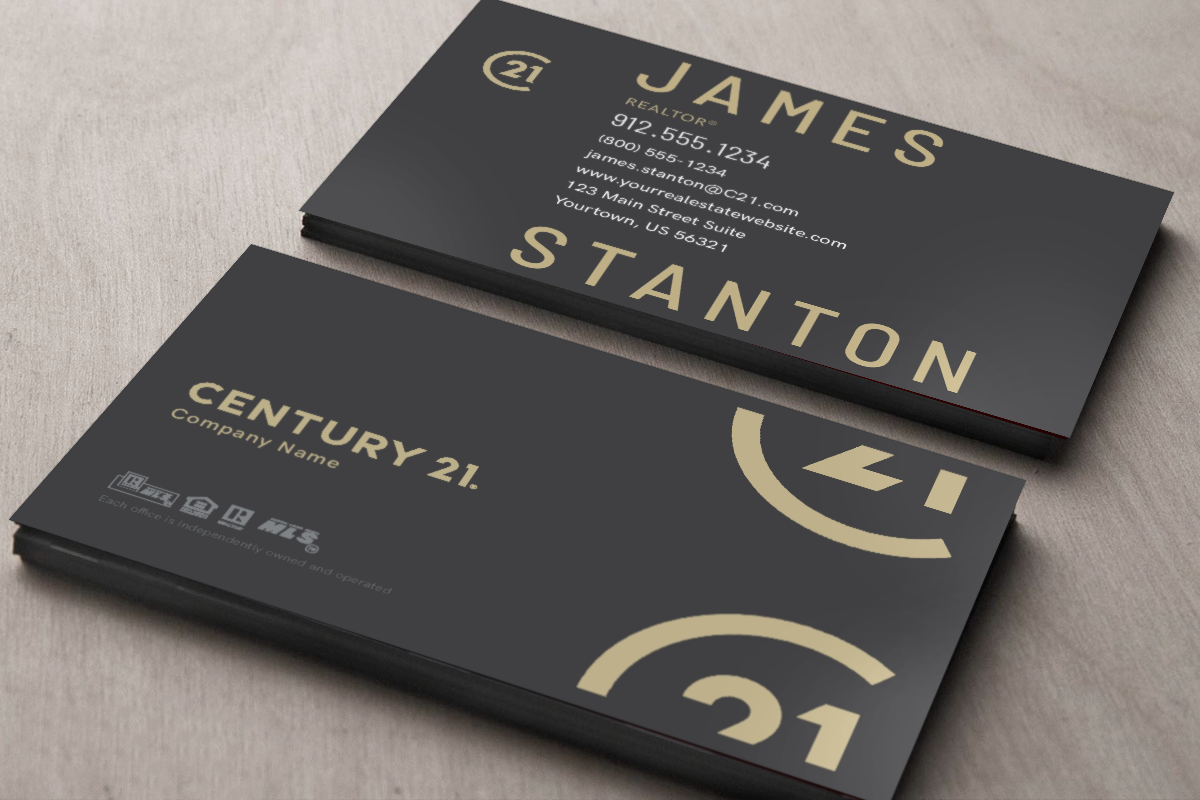New Century 21 Business Card Designs Are Here Realtor Century21 Realestate Realtors Realty Realtorlife Age Real Estate Business Cards Card Design Cards