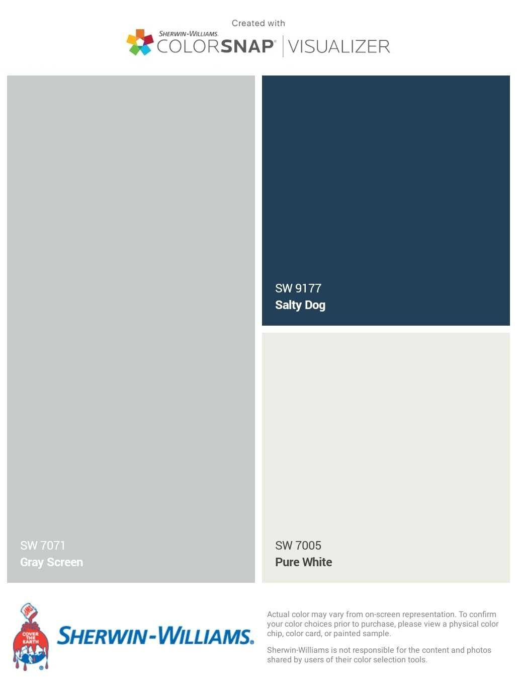 Gray Screen With Salty Dog Exterior Paint Colors For House House Paint Color Combination Paint Colors For Home