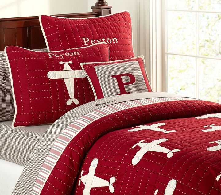 12 Amusing Airplane Bedding For Kids Digital Picture Ideas Pottery Barn Kids Airplane Boy Room Airplane Bedroom