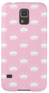 Pink princess case for your girls samsung phone