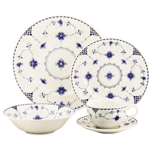 """Johnsons Bros """" Blue Denmark """" Tea Cup /& Saucer"""
