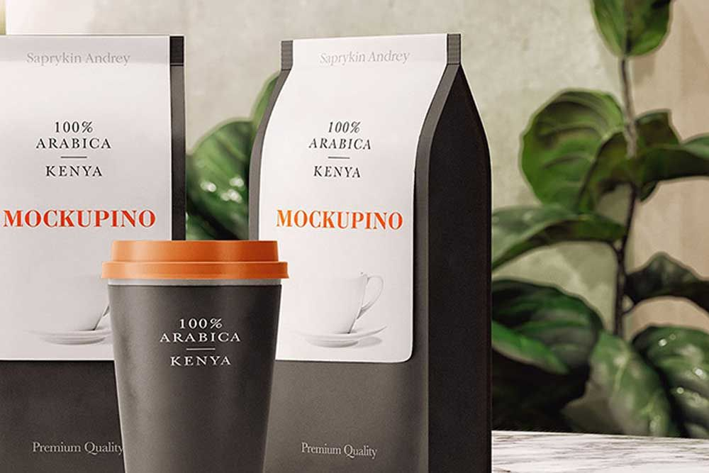 Download Mockup Packaging Coffee Free Yellowimages