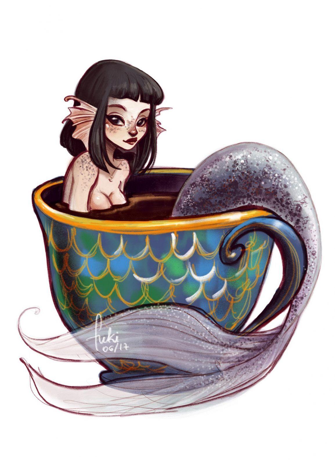 Teacup Mermaid M