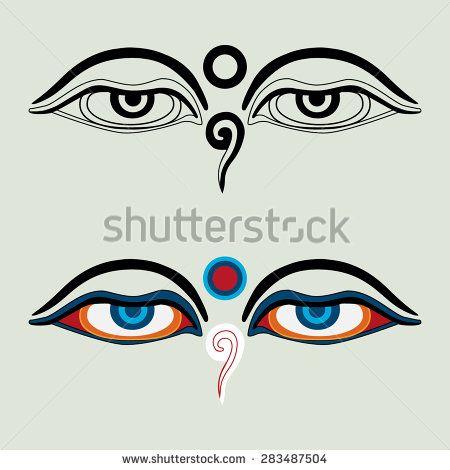 Eyes Of Buddha Buddhas Eyes Buddhist Eyes Symbol Wisdom