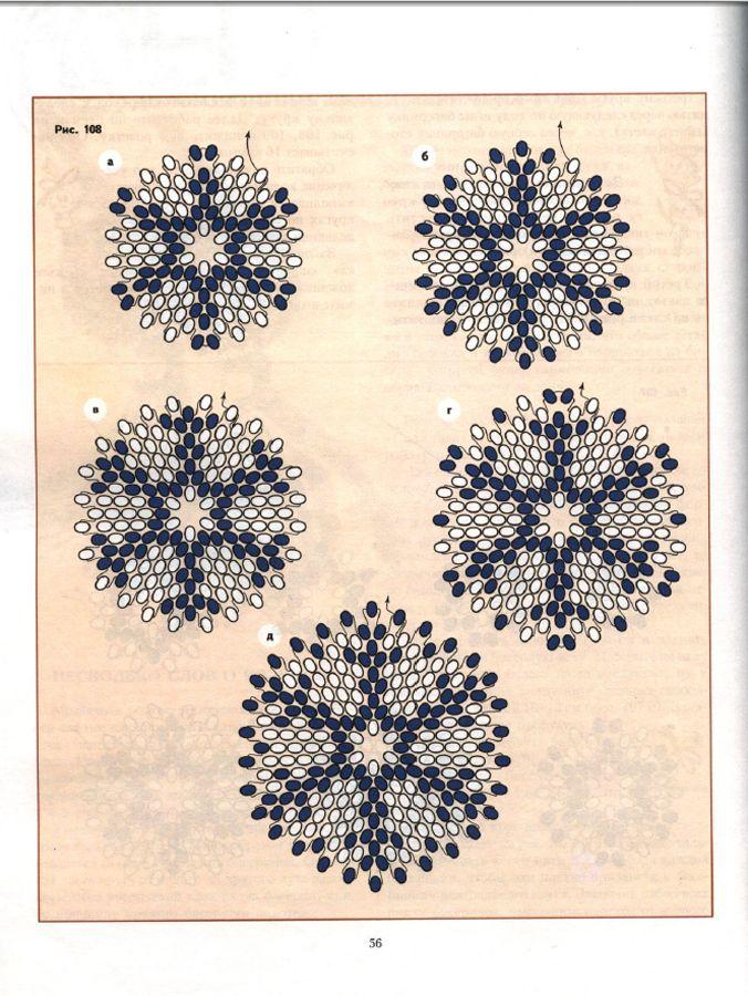 peyote circular pattern perlenf deln pinterest perlen perlenschmuck und anh nger. Black Bedroom Furniture Sets. Home Design Ideas